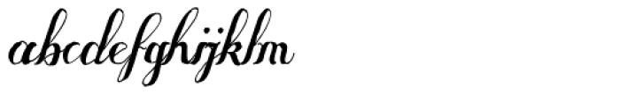 Some Weatz Swashes Font LOWERCASE