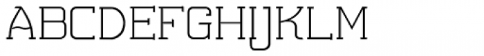 Somes Slab Regular Font LOWERCASE