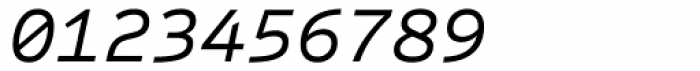 Sometype Mono Regular Italic Font OTHER CHARS