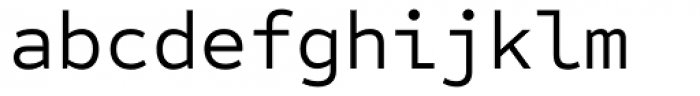Sometype Mono Regular Font LOWERCASE