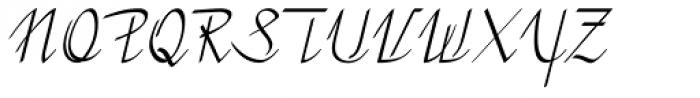 Sommerwerk Ink Font UPPERCASE