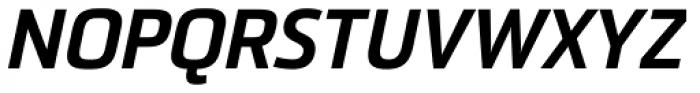Sommet Black Italic Font UPPERCASE