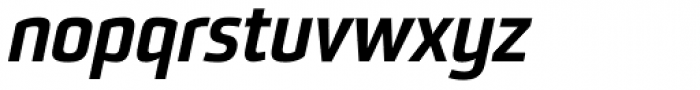 Sommet Black Italic Font LOWERCASE
