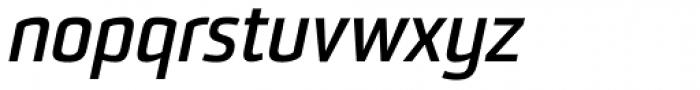 Sommet Bold Italic Font LOWERCASE