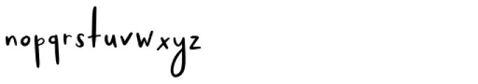Somn Regular Font LOWERCASE