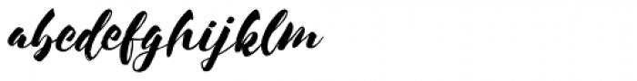 Sond Font LOWERCASE