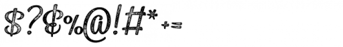 Sonder Print Script2 Font OTHER CHARS
