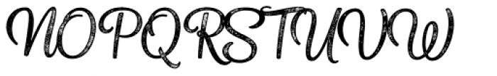 Sonder Print Script2 Font UPPERCASE
