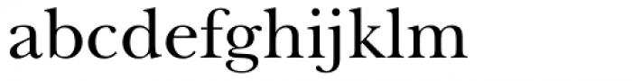 Song ASC Traditional Medium Font LOWERCASE