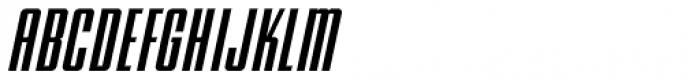 Song Composer Oblique JNL Font UPPERCASE
