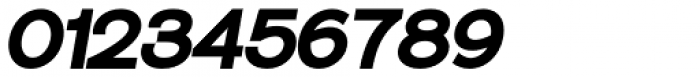 Sonika Black Italic Font OTHER CHARS