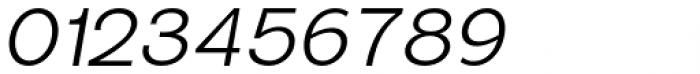 Sonika Light Italic Font OTHER CHARS