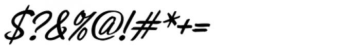 Sonora Pro Medium Italic Font OTHER CHARS