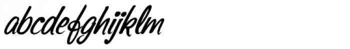 Sonora Pro Medium Italic Font LOWERCASE
