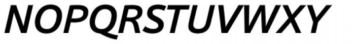 Sonus Medium Italic Font UPPERCASE
