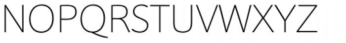 Sonus Thin Font UPPERCASE