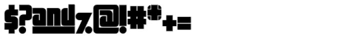 Sooper Cosmic Font OTHER CHARS