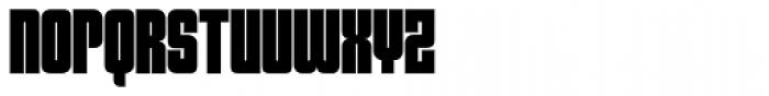 Sooper Cosmic Font UPPERCASE