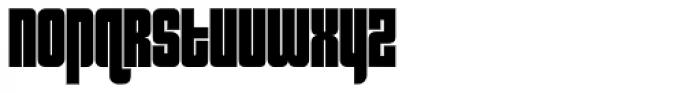 Sooper Cosmic Font LOWERCASE