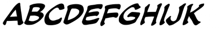 Soothsayer Italic Font LOWERCASE