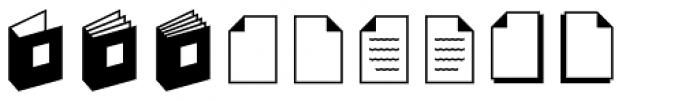 Sophist Icons OT Images Font LOWERCASE