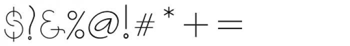 Soraya Regular Font OTHER CHARS