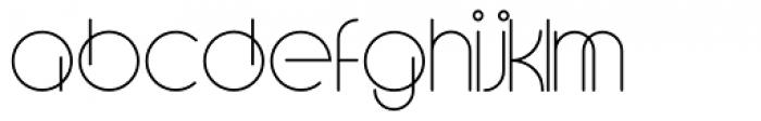 Soraya Regular Font LOWERCASE