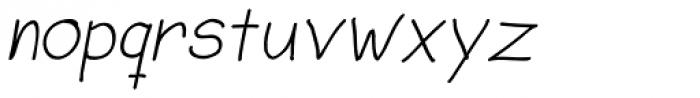 Sorbet Italic Font LOWERCASE