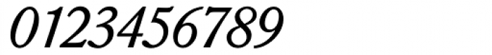 Sorbonne BQ Italic Font OTHER CHARS