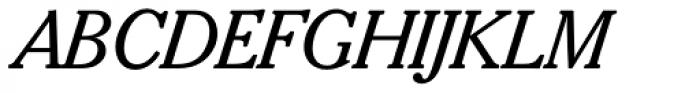 Sorbonne BQ Italic Font UPPERCASE