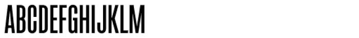 Sorren Ex SemiBold Font UPPERCASE