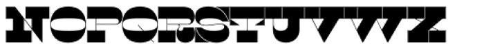 Sortie Super Font UPPERCASE