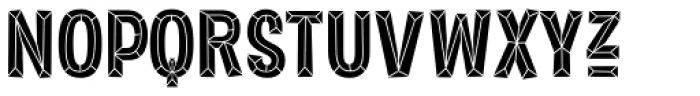 Sorvettero Diamond Font UPPERCASE