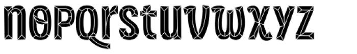 Sorvettero Diamond Font LOWERCASE