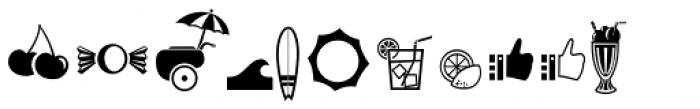 Sorvettero Dingbats Font LOWERCASE
