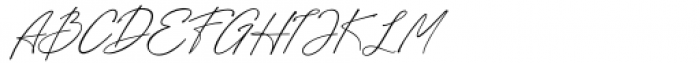 Sothel Font Duo Signature Style Font UPPERCASE
