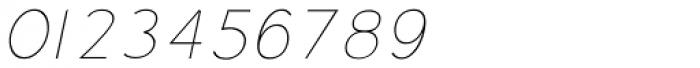 Soul ultralight Italic Font OTHER CHARS