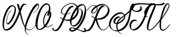 Soulmate Regular Font UPPERCASE