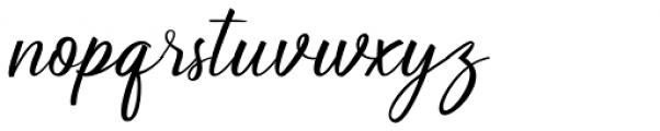 Soulmate Regular Font LOWERCASE