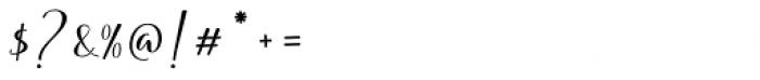 Soulmotion Regular Font OTHER CHARS