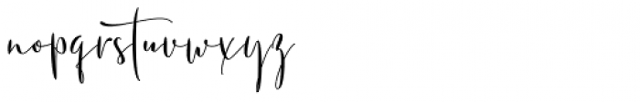 Soulmotion Regular Font LOWERCASE