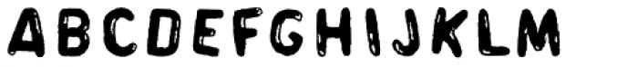 Souper Sans Font UPPERCASE