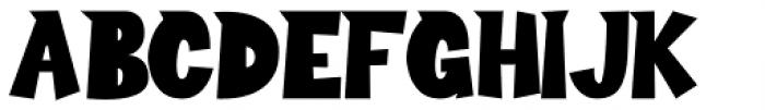 Sour Crunch Regular Font UPPERCASE