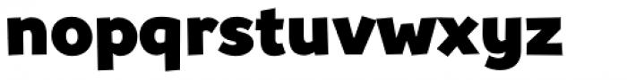 Souses Black Font LOWERCASE