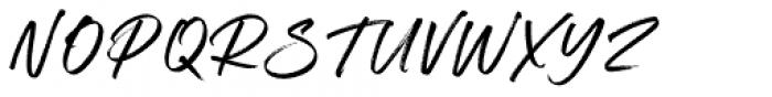 South Coast Regular Font UPPERCASE