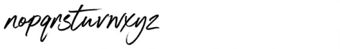 South Coast Regular Font LOWERCASE