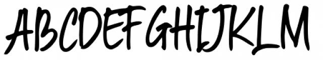 South East Regular Font UPPERCASE
