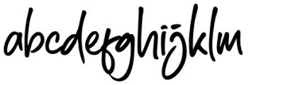 South East Regular Font LOWERCASE
