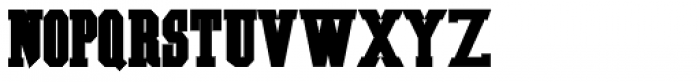 Southern Colonialist Bold Font UPPERCASE