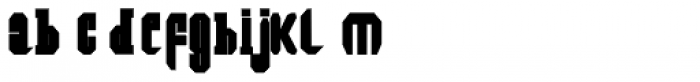 Southern Colonialist Bold Font LOWERCASE